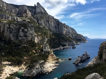 Accidentally went mountain climbing at Les Calanques
