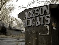 Ackson Heights Abandoned trailer park near Macomb IL