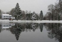 Across the Pond on the Upper Green in Newbury MA photo by John Phelan