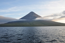 Active stratovolcano Mount Cleveland in the Aleutian Islands by Christina Neal Alaska Volcano Observatory