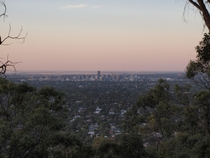 Adelaide South Australia from the hills