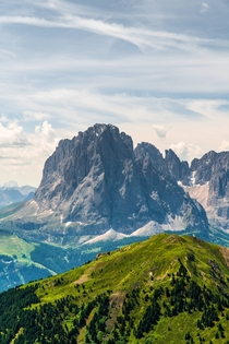 Adventure in the mountains The Dolomites Italy