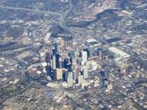 Aerial downtown Houston Texas  x-post from raerialporn