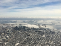 Aerial Toronto - Looking SE X-Post from rtoronto