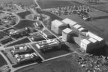 Aerial View of Ames Wind Tunnels in