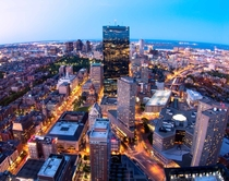 Aerial view of Boston  by Marcio Silva