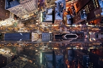 Aerial view of Herald Square in Manhattan  by Navid Baraty