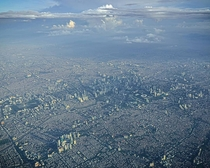 Aerial view of Jakarta