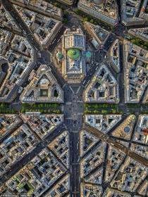 Aerial view of Paris France Photo by Jeffrey Milstein Resolution