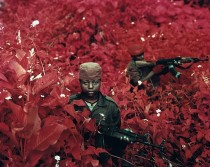 Aerochrome picture by Richard Mosse