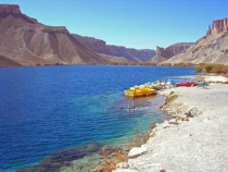 Afghanistan - Lake Band-e-Amir