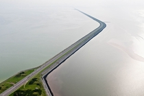 Afsluitdijk  Closure dike - The Netherlands