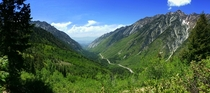 After a rainy May the sun was out yesterday in Little Cottonwood Canyon UT