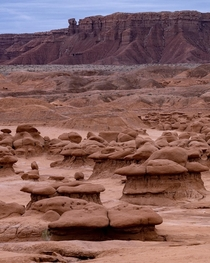 After seeing the movie Galaxy Quest I had to find this place  Goblin Valley SP Utah