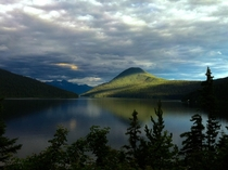 After the storm Bowron lakeBritish Columbia x
