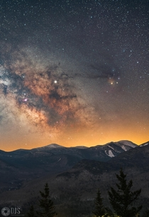 After what felt like an endless slew of cloudy nights I was finally able to get out to the Adirondacks NY this past weekend to see the Milky Way for the first time this year