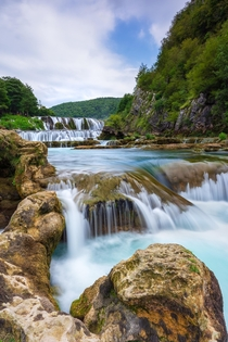 After  years I decided to take a turn on my way to Zagreb Croatia to see this waterfall in Bosnia Strbacki buk on the river Una