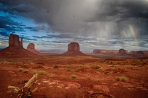 Aftermath at Monument Valley UT