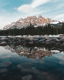 Afternoon light at Castle Mountain Alberta  Instagram fvdrs