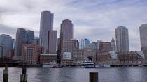 Afternoon on the Boston Waterfront