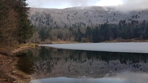 Again with correct title lac de Blanchemer Les Vosges FR