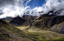 Akamani Highlands near the Bolivia-Peru Border and Curva Valley  by Matthew Garrison