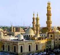 Al-Azhar Mosque is a mosque in Islamic Cairo Egypt Al-Muizz li-Din Allah of the Fatimid dynasty commissioned its construction for the newly established capital city in