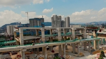 Alam Damai Malaysia SUKE triple decker highway under construction