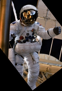 Alan Bean Apollo  Lunar Module Pilot During Skylab EVA