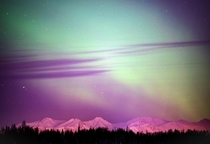 Alaska Northern Lights Joint Base Elmendorf-Richardson AK