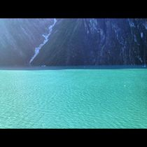 Alaskan Fjords Beautiful Aqua Water