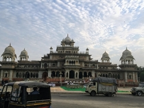 Albert Hall Museum Jaipur  -- a fanciful example of Indo-Saracenic architecture drawing on many separate strands of Indian architectural tradition mashed together by the British during the colonial period