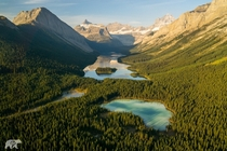 Alberta From Above  by Chris Burkard
