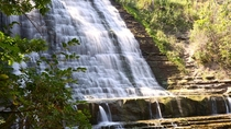 Albion Falls in Hamilton ON by Nikki Morrison