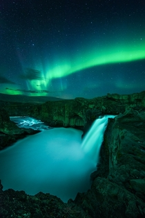 Aldeyjarfoss Aurora - A Different View