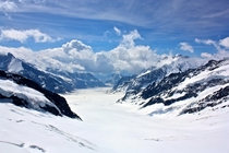 Aletsch Glacier Wengen Switzerland