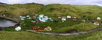 Aleutian fishing community of Atka population