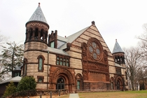 Alexander Hall Princeton University by William Appleton Potter in Richardson Romanesque x