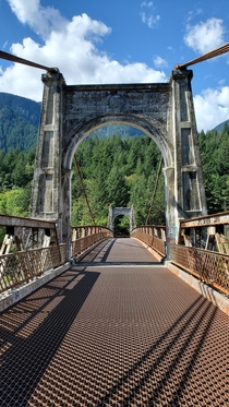 Alexandra Bridge - north of Hope BC in the Fraser Canyon south of Hells Gate This was a part of the  hwy until