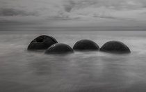 Alien Eggs Moeraki New Zealand Rick Lussi   x