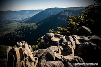 Alien rocks By LightSource Photography  Blue Mountains Australia