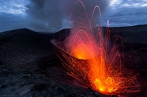 Alive powerful and definitely unsafe - Yasur volcano Vanuatu