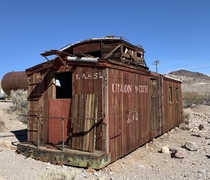 All aboard Rhyolite Express not so express