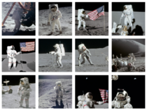 All  Apollo Astronauts who walked on the moon between July  and December