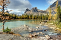 All Ive been seeing here is Alberta why not give British Columbia a chance Lake OHara Yoho National Park
