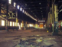 Allentown Pa Abandoned steel mill locally known as Copper Field rez