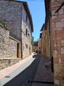Alley in Assisi Italy