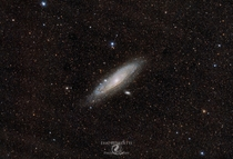 Almost  hours of Andromeda Galaxy with my Nikon D and Rokinon mm lens from my driveway in the middle of SLC Utah Bortle