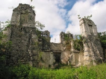Almost nobody visits the Rio Bec ruins in Campeche Mexico