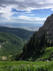 Almost to the saddle on Mt Timpanogos UT